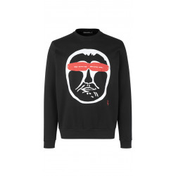 Isaksen Design Mens Ken Sweat Black
