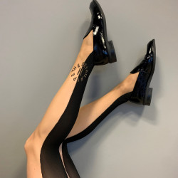 HYPEtheDETAIL Tights 16019-77-9000 Black/Nude