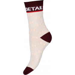 HYPEtheDETAIL Sock 21463-75-9030 Sand/Red
