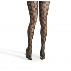 Decoy Tights 16937-1100 20den Logo Black