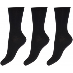 Decoy Ankel Sock Bamboo 3-pack 20232 Black