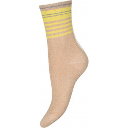 Decoy Ankel Sock Glitter 21465-9034 Gold/Yellow