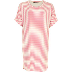 Missya Softness Stripe Big Shirt Papture Rose