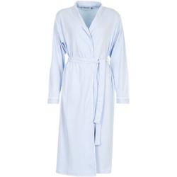 Missya Fiona Robe 100% Cotton Chambray Blue