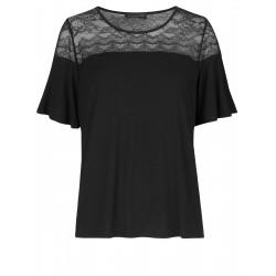 Rosemunde Shirt ss. 4896-010 Black