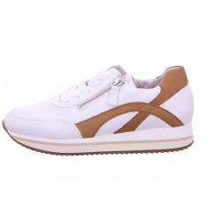 Gabor Sneakers 63.440.24 Las Vegas White /Cognac