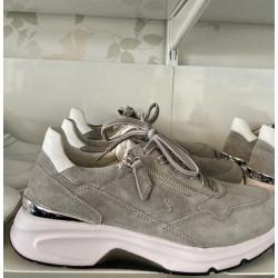 Gabor Sneakers 66.898.10 Dreamvelour Grey/white