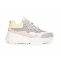 Duffy Sneakers 75-01917 Multi Grey/Rose/Yellow