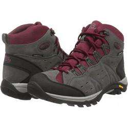 Brütting Boots Mount Bona High Grey/Bordeaux