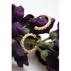 Pico Akoya Earrings Gold w. Pearls