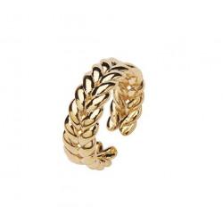 Pico Erin Ring w. Braided Detail Gold