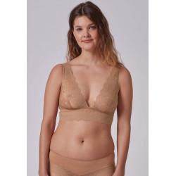 Skiny Lace Soft Bra 080582 Bronze