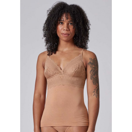 Skiny Lace Camisole 080585 Bronze