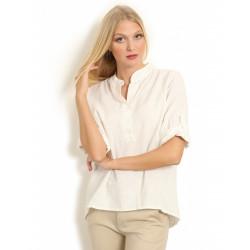 Copenhagen Luxe 1168 Linen Shirt White