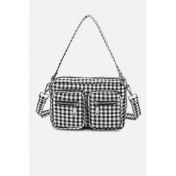 Noella Celina Bag Black/White Checks