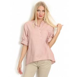 Copenhagen Luxe 1168 Linen Shirt Rose