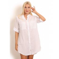 Copenhagen Luxe 1150 Cotton Shirt White J6