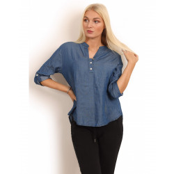 Copenhagen Luxe 1149 Cotton Shirt Denim
