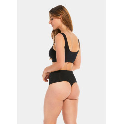 Magic Body Fashion  (Shape) Comfort Thong Black