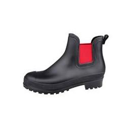 LBDK Rubberboots Black/Red