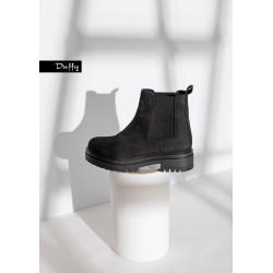 Duffy Short Boots 49-13340  Black
