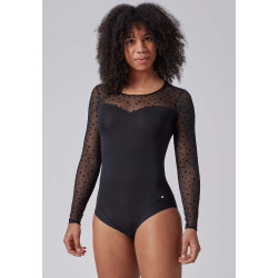 SKINY Body L. Sleeves Every Day In Mesh 080545 Black