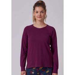 SKINY Shirt L. Sleeves 080566 Purple