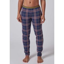 SKINY Long Pants Every Night 080569 Darkblue Check