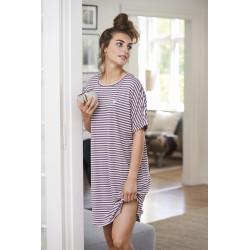 Missya Softness Stripe Big Shirt Ephemera