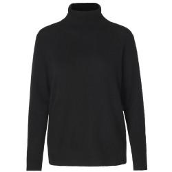 Rosemunde Roll Neck Wool & Cashmere 1440 010 Black