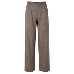 Rosemunde Trousers Wool & Cashmere 1460-893 Dark Brown Melange