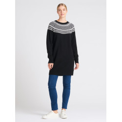 Nanso Norra Knit Tunic NA-01-26735 Black