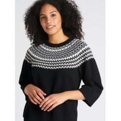 Nanso Norra Knit Pullover NA-01-26733 Black