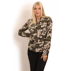 Copenhagen Luxe 1147 Camouflage Shirt Short