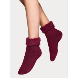 Vogue Socks Softies Home Sock Ruby Wine