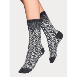 Vogue Christina Wool Sock Medium Grey Melange