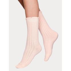 Vogue Serena Cashmere Sock Silver Peony