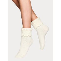 Vogue Carine Alpaca Wool Sock Off White