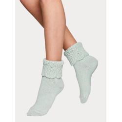 Vogue Carine Alpaca Wool Sock Aqua Haze