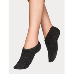 Vogue Wool Blend Steps Dark Grey Melange